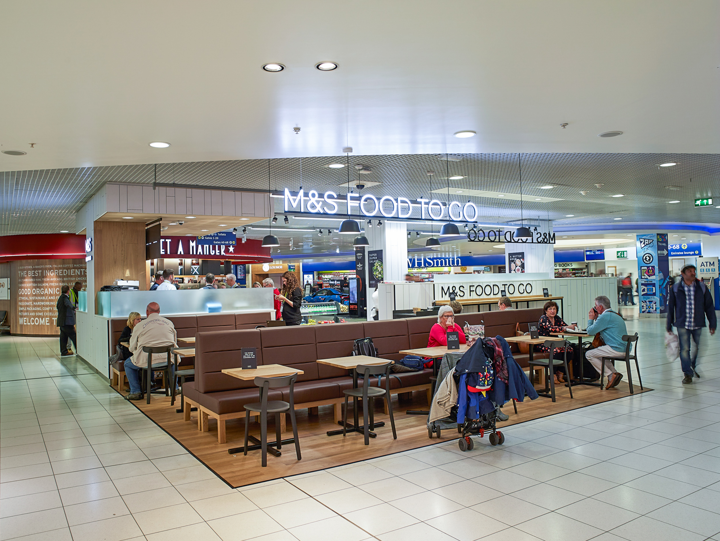 Marks & Spencer Counter